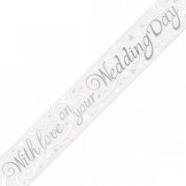 On Your Wedding Day Foil Banner
