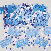 Blue It's a Boy Confetti