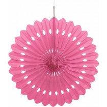 Magenta Paper Fan