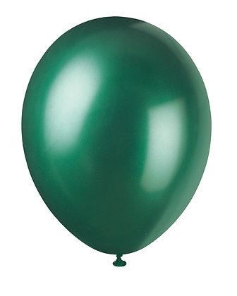 "Emerald Green 11"" Latex Balloons"
