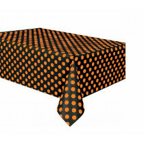 Black and Orange Table cover