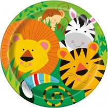 Animal Jungle Plates