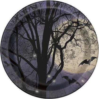 Spooky Night Plates