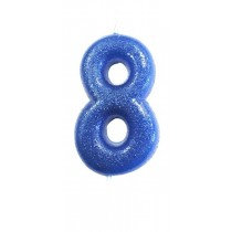 Blue Glitter No 8
