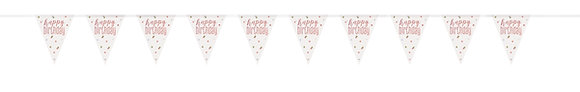 New Glitz Rose Gold Bunting