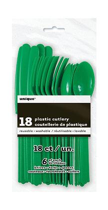 Emerald Green Cutlery