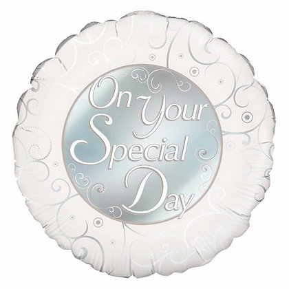 On Your Special Day Foil Balloon