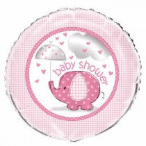Pink Baby Shower Foil Balloon
