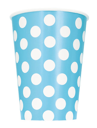 Baby Blue Dotty Cups