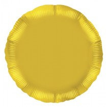 Gold Round Foil Balloon