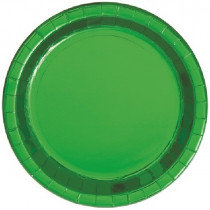 Green Metallic Plates
