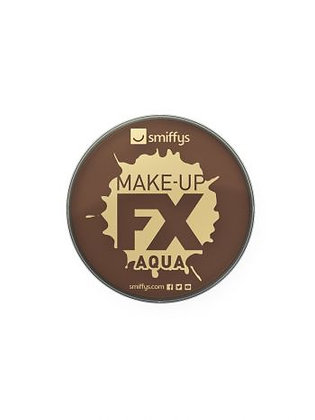Smiffys FX Face and Body Paint Dark Brown