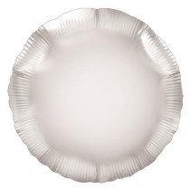 Silver Round Foil Balloon