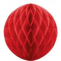 40cm Red Honeycomb Ball