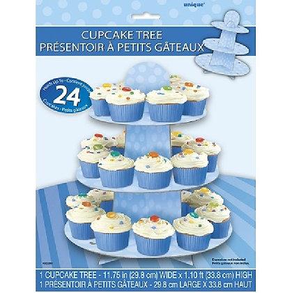 Blue Cupcake Stand