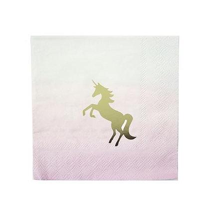 We Heart Unicorn Napkins