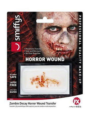 Zombie Decay Horror Wound Transfer
