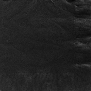 Black Dinner Napkins