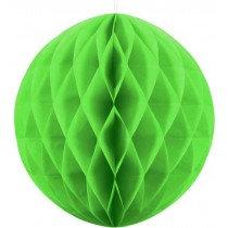 40cm Apple Green Honeycomb Ball