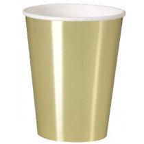 Gold Metallic Cups