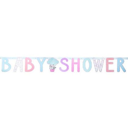 Baby Shower Letter Bunting