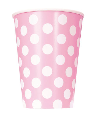 Pink Dotty Cups