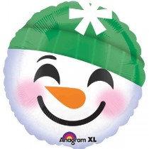 Snowman Emoticions Std Foil