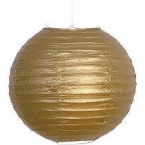 Gold Decorative Paper Lantern