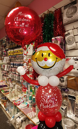 Say It With Santa Character Balloon