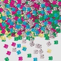 Multi-Colour Age 18 Confetti