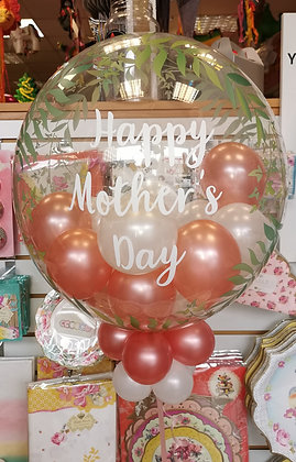 """Mothers Day """"Fern""""Personalised Decco Bubble"""