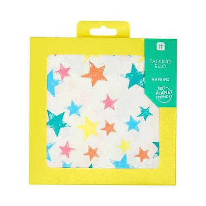 Birthday Brights Rainbow Star Napkins