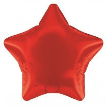 Red Foil Star Balloon