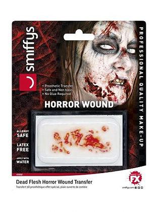Dead Flesh Horror Wound Transfer