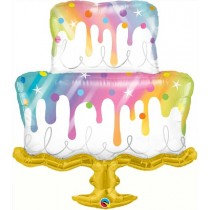 Rainbow Drip Cake Super Shape