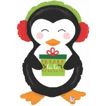 Holiday Fun Penguin Super Shape Balloon