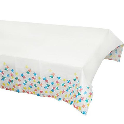 Birthday Brights Rainbow Star Paper Tablecover