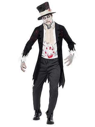 Zombie Groom Costume - Adult Men's
