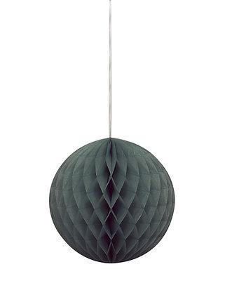 "Black 8"" Paper Honeycomb Ball"