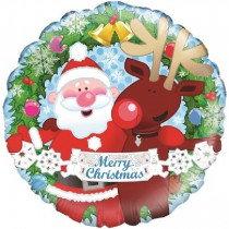 Christmas Friends Std Foil
