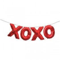 XOXO Balloon Banner Kit