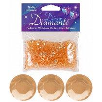 Gold Diamante Confetti Small