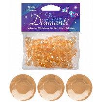 Gold Diamante Confetti Large