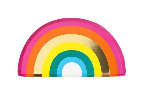 Rainbow Bright Plates