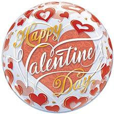 Happy Valentine's Bubble Balloon
