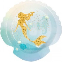 Mermaid Paper Plates