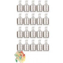 Silver Party Poppers Pack of 20