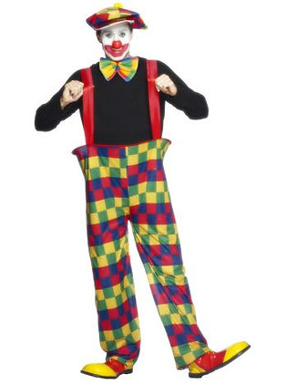Hooped Clown Costume
