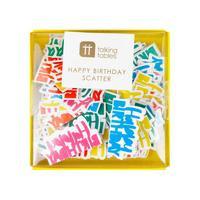 Birthday Brights Rainbow Happy Birthday Scatter