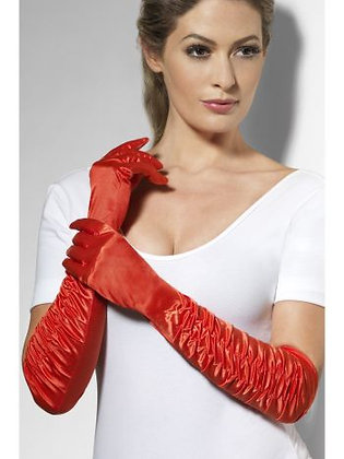 Adult Red Temptress Gloves